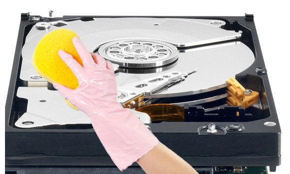 how to wipe your hard drive without a disk
