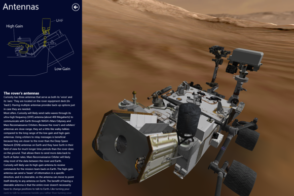 Curiosity's First Color Image Of Martian Landscape