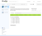 Buffer scheduler