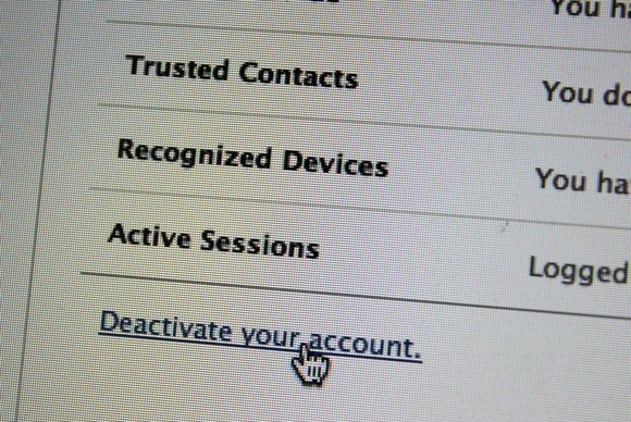 how to delete fb group account