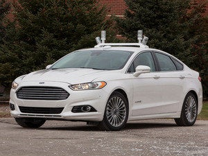 ford automated fusion hybrid research vehicle dec 2013