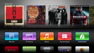 appletv homescreen