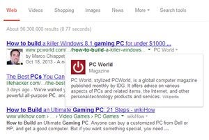 google search bio pcworld