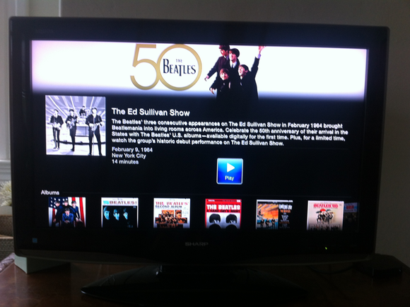 beatles appletv