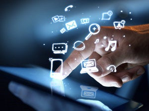 social media concept 160910389