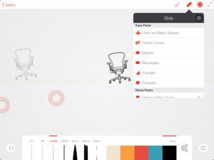 ink slide line app