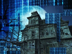 Haunted house scary frightening terror