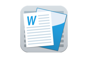 document writer mac icon