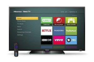 hisense roku tv with remote