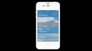 ios apps weather apps