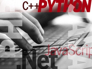 C++ Java PHP .Net Python JavaScript code type input keyboard