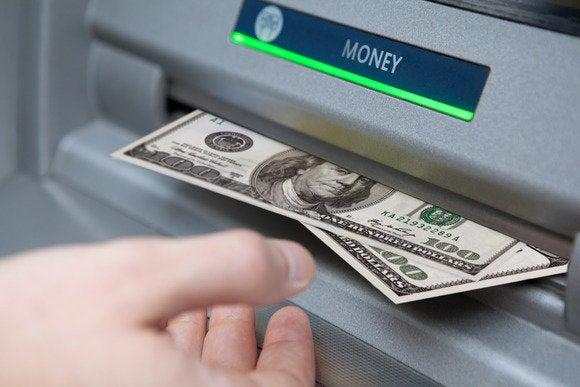 ATM machine manual