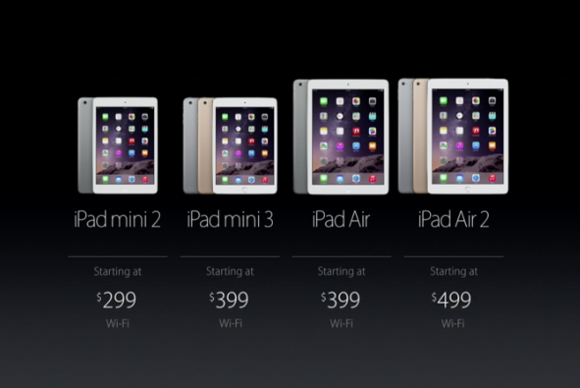ipads prices