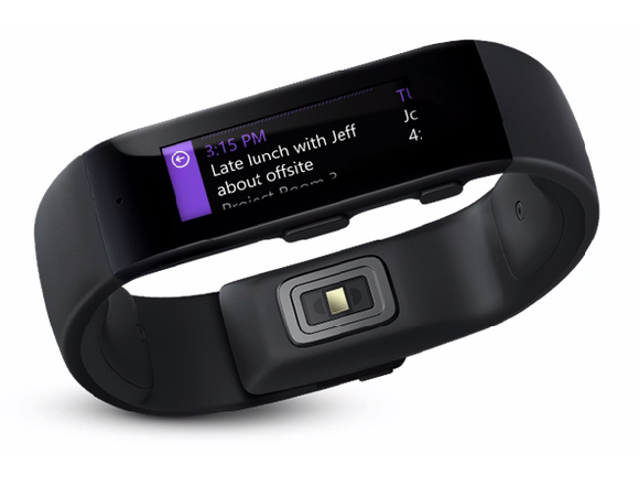 meet microsoft band microsoft 39 s 200 fitness focused. Black Bedroom Furniture Sets. Home Design Ideas