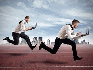 pc laptop sprinting speed