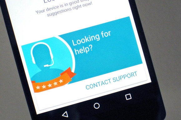 android device assist primary