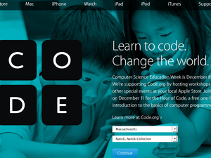 Apple Store Hour of Code 2014