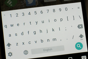 google keyboard numbers 1