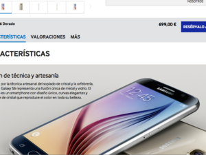 S6 pricing in Spain