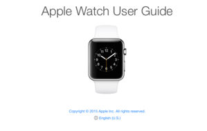 apple watch user guide cover
