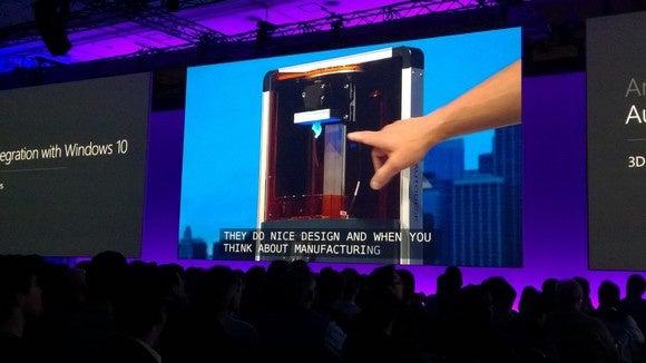 Windows 10 Autodesk spark 3d printer