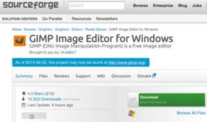 sourceforge gimp