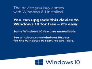 windows 10 sticker primary