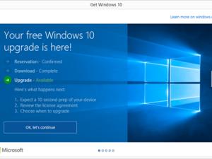 windows 10 upgrade timeline