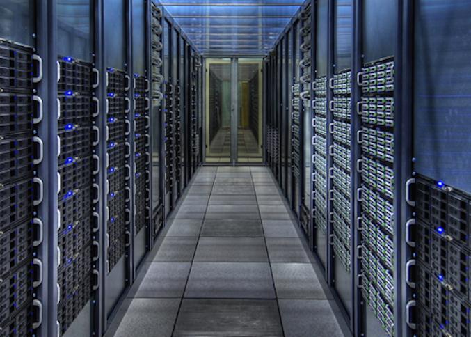 Servers in CERN's Geneva data center