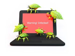 bug malware infected virus