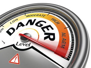 danger warning alarn threat