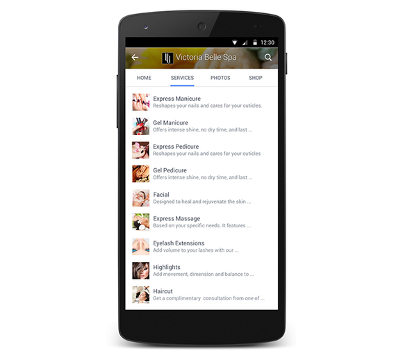 facebook pages redesign
