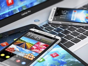 smartphones tablet mobile devices