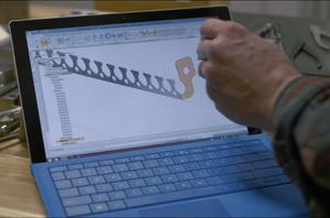 microsoft surface pro hand stylus pen