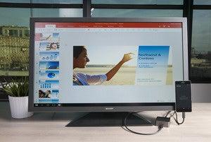Windows 10 Mobile Continuum PowerPoint