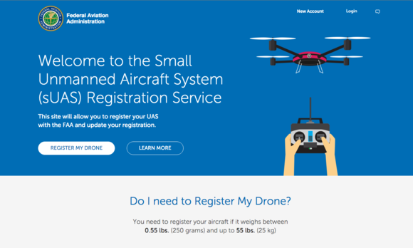 The FAA's drone registry is live, and it's ridiculously ...