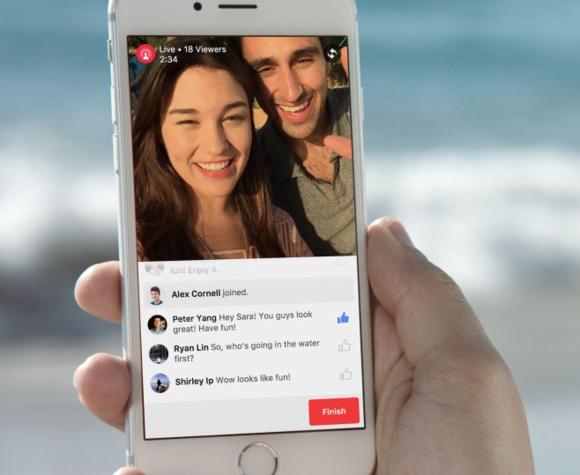 facebook live video ios iphone