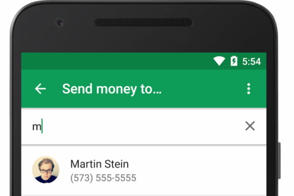 google wallet transfer money