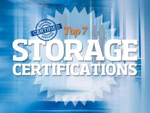 Top 7 storage certifications for IT pros - intro title
