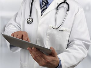 doctor tablet medical