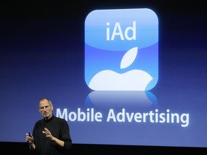 iad mobile advertising steve jobs