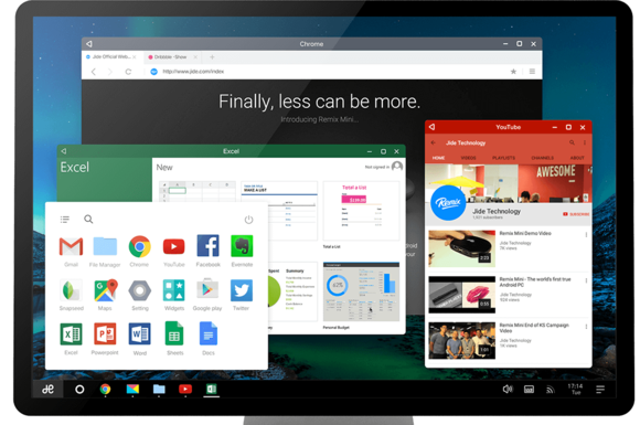 Remix OS Custom Android OS Running On PC