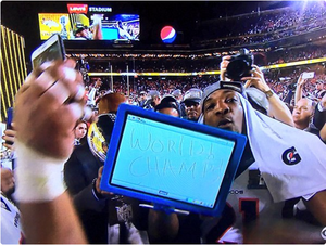microsoft surface pro super bowl 50 aqib talib