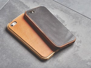 grovemade walnut maple leather cases ipse