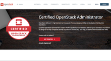 certified openstack administrator