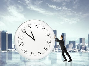 pushing time
