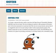 Open-source vulnerabilities database shuts down
