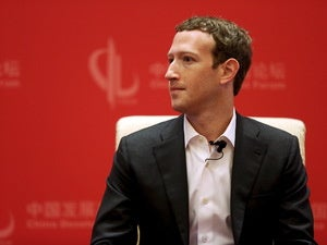 zuckerberg in china reuters