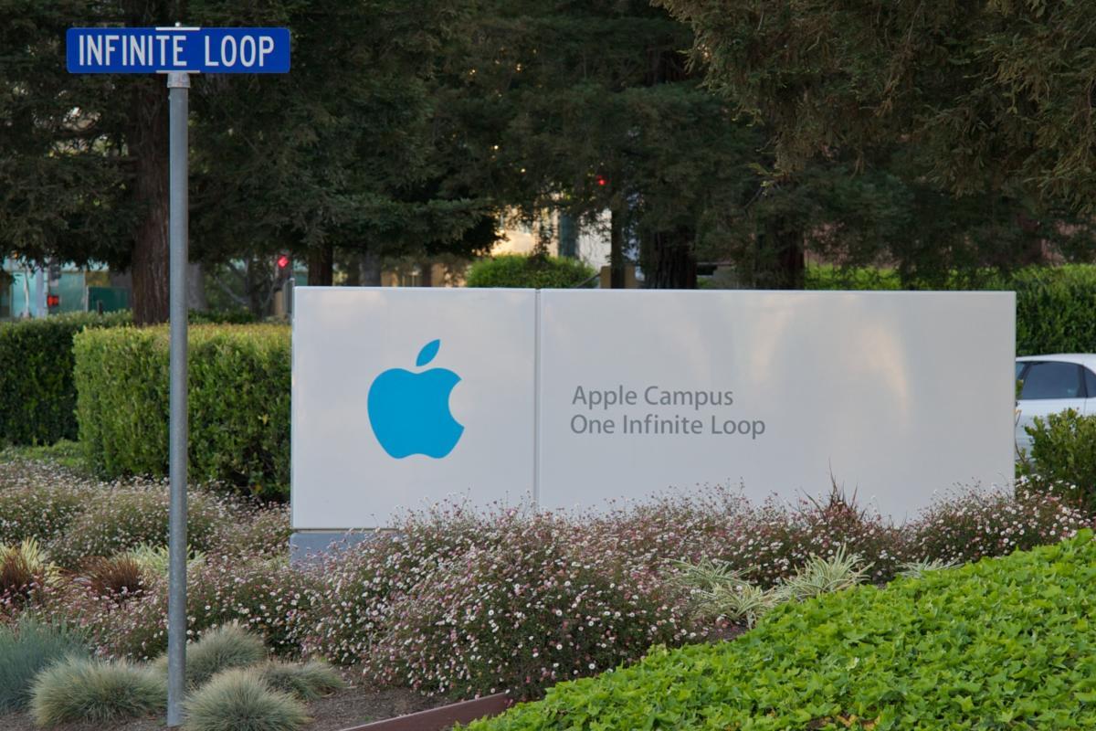 apple campus headquarters stock