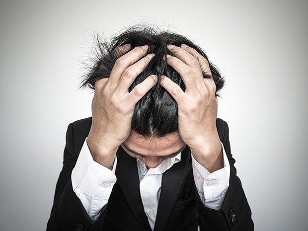 burnout depressed stress